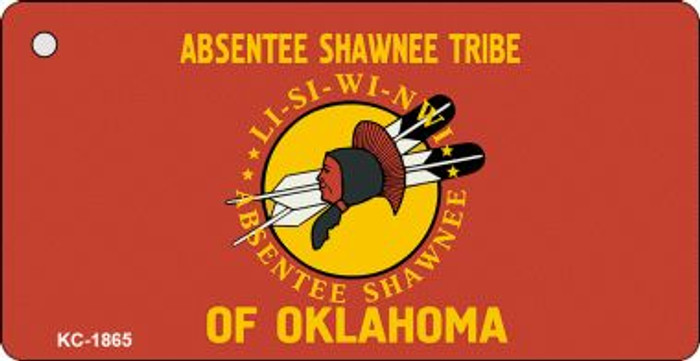 Absentee Shawnee Tribe Wholesale Novelty Key Chain