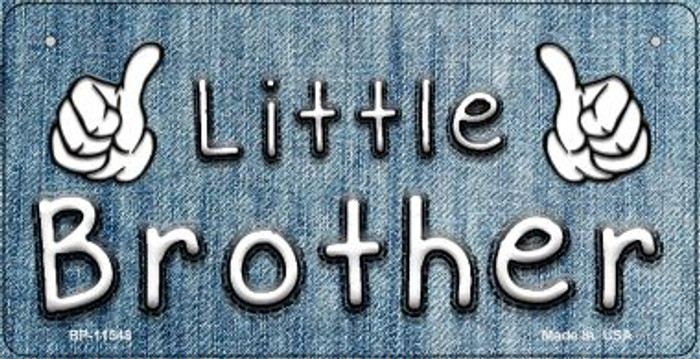 Little Brother Novelty Wholesale Metal Bicycle License Plate