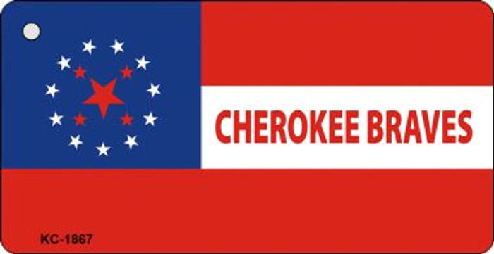 Cherokee Braves Wholesale Novelty Key Chain