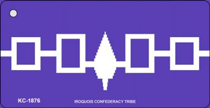 Iroquois Confederacy Tribe Flag Wholesale Novelty Key Chain