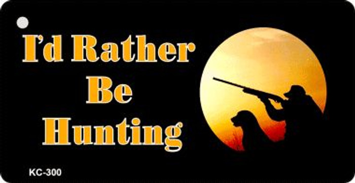 Rather Be Hunting Wholesale Novelty Key Chain