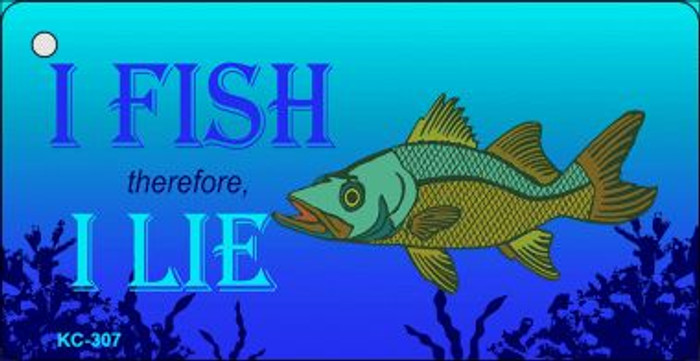 I Fish I Lie Wholesale Novelty Key Chain