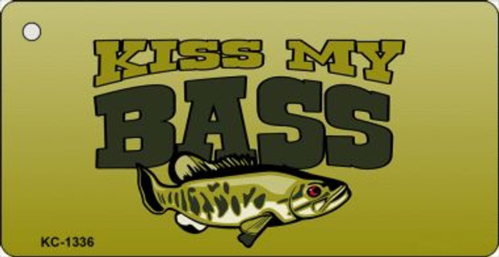 Kiss My Bass Wholesale Novelty Key Chain