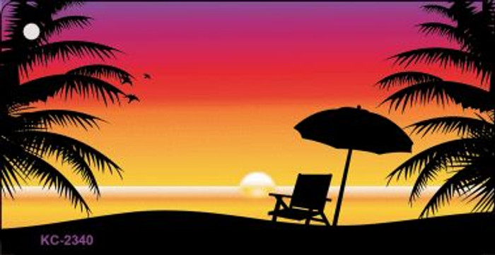Sunset Chair Wholesale Novelty Key Chain