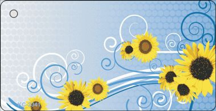 Sun Flowers Wholesale Novelty Key Chain