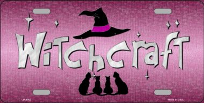 Witchcraft Novelty Wholesale Metal License Plate