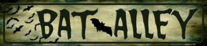 Bat Alley Wholesale Novelty Metal Small Street Signs