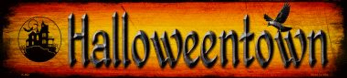 Halloweentown Wholesale Novelty Metal Small Street Signs