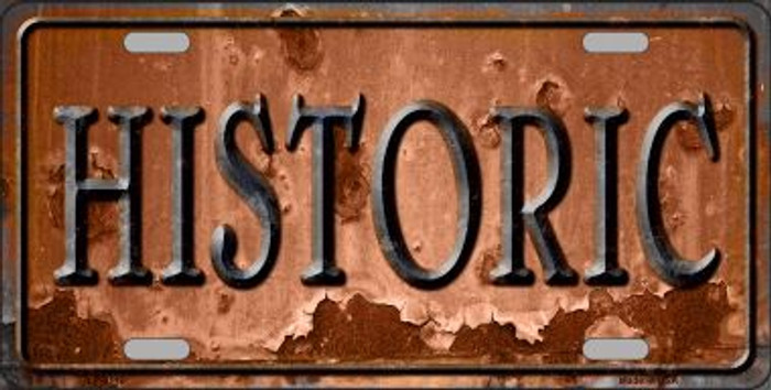 Historic Wholesale Novelty Metal License Plate