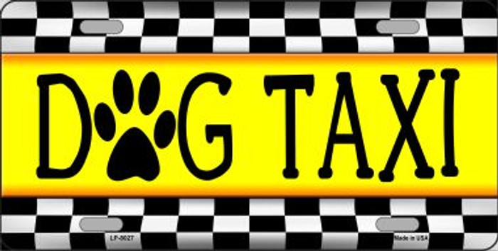 Dog Taxi Wholesale Novelty Metal License Plate