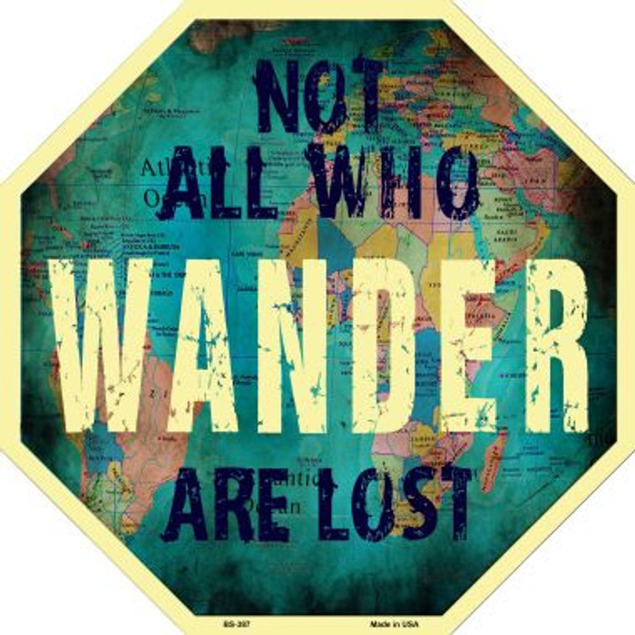 Not All Who Wonder are Lost