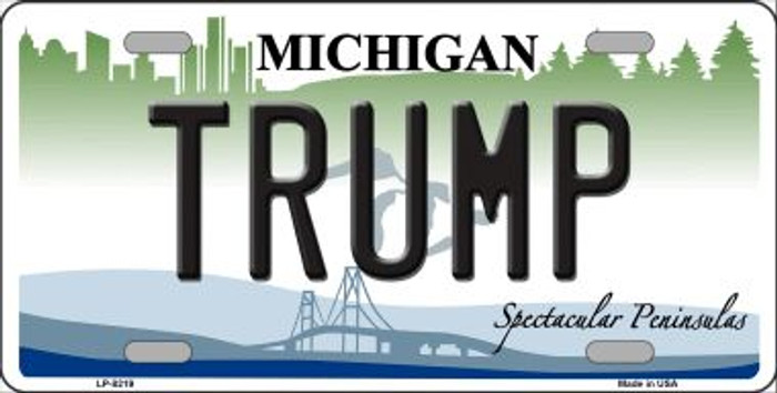 Trump Michigan Wholesale Novelty Metal License Plate