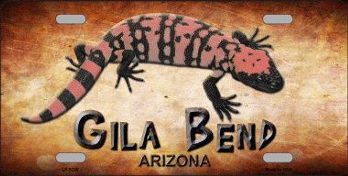Gila Bend Gila Monster Wholesale Novelty Metal License Plate