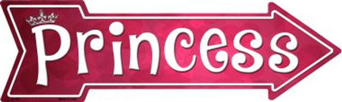 Princess Wholesale Novelty Metal Arrow Sign
