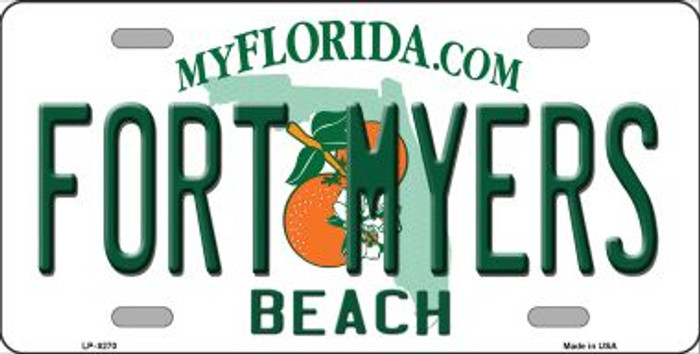 Fort Myers Beach Wholesale Novelty Metal License Plate
