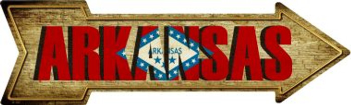 Arkansas Wholesale Novelty Metal Arrow Sign