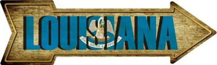 Louisiana Wholesale Novelty Metal Arrow Sign