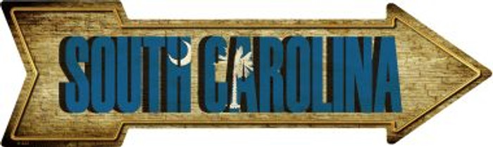 South Carolina Wholesale Novelty Metal Arrow Sign