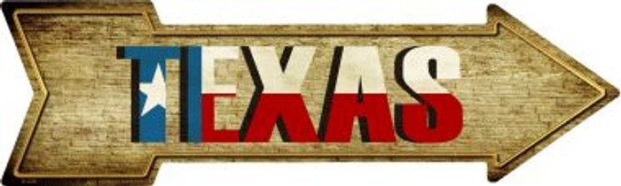 Texas Wholesale Novelty Metal Arrow Sign