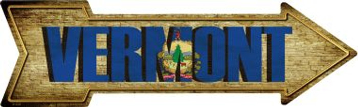 Vermont Wholesale Novelty Metal Arrow Sign