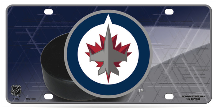 Winnipeg Jets Wholesale Metal Novelty License Plate LP-5562