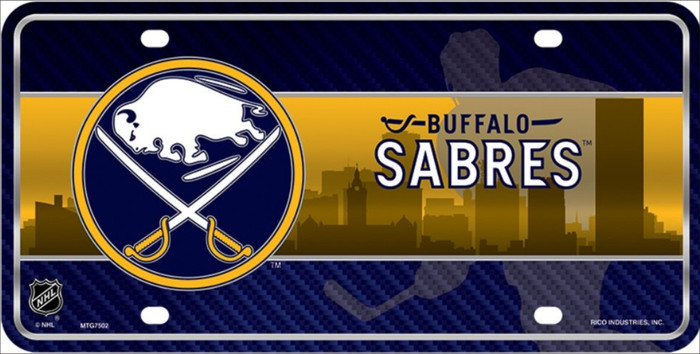 Buffalo Sabres Wholesale Metal Novelty License Plate LP-5569