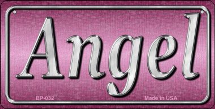 Angel Novelty Wholesale Metal Bicycle License Plate