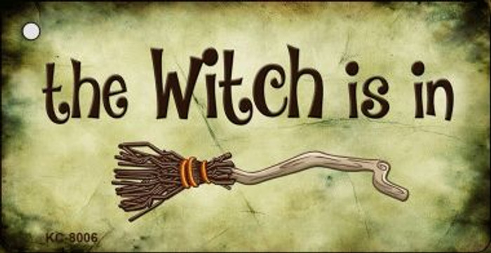 The Witch Is In Wholesale Novelty Key Chain
