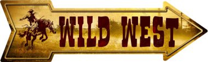 Wild West Wholesale Novelty Metal Arrow Sign