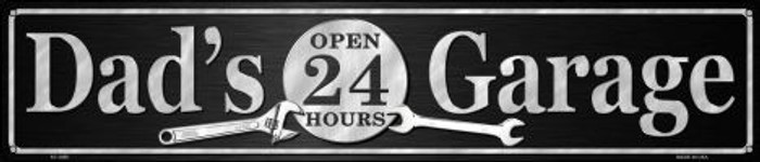 Dads Garage Wholesale Novelty Metal Street Sign ST-1357