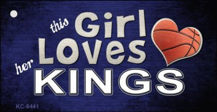 This Girl Loves Her Kings Wholesale Novelty Key Chain