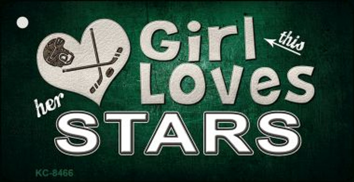 This Girl Loves Her Stars Wholesale Novelty Key Chain
