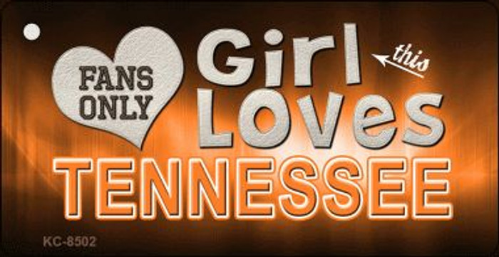 This Girl Loves Tennessee Wholesale Novelty Key Chain
