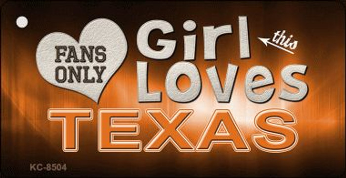 This Girl Loves Texas Wholesale Novelty Key Chain
