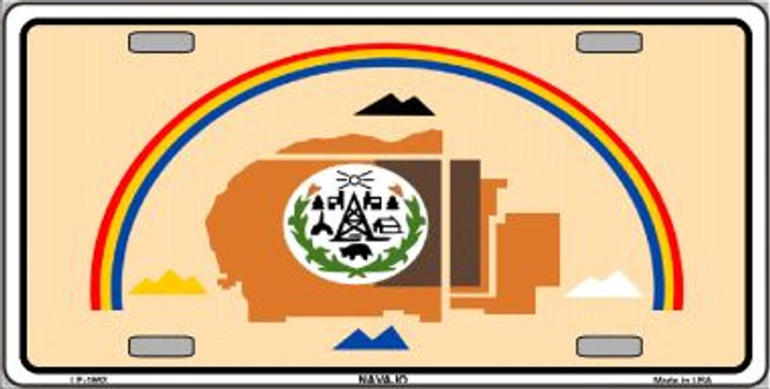 Navajo Flag Wholesale Metal Novelty License Plate LP-1863