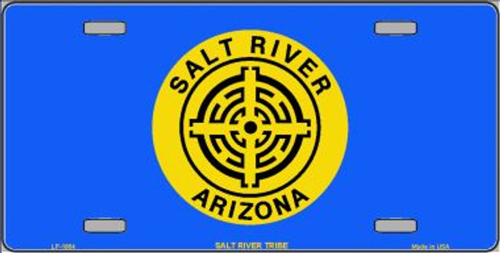 Salt River Tribe Flag Wholesale Metal Novelty License Plate LP-1864