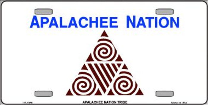 Apalachee Nation Flag Wholesale Metal Novelty License Plate LP-1866