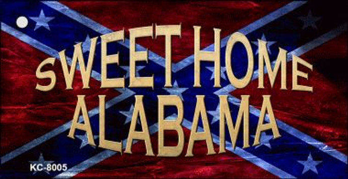 Sweet Home Alabama Wholesale Novelty Key Chain