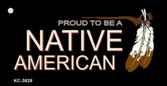Proud To Be A Native American Wholesale Novelty Key Chain