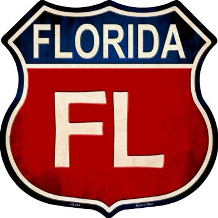 Florida Wholesale Metal Novelty Highway Shield