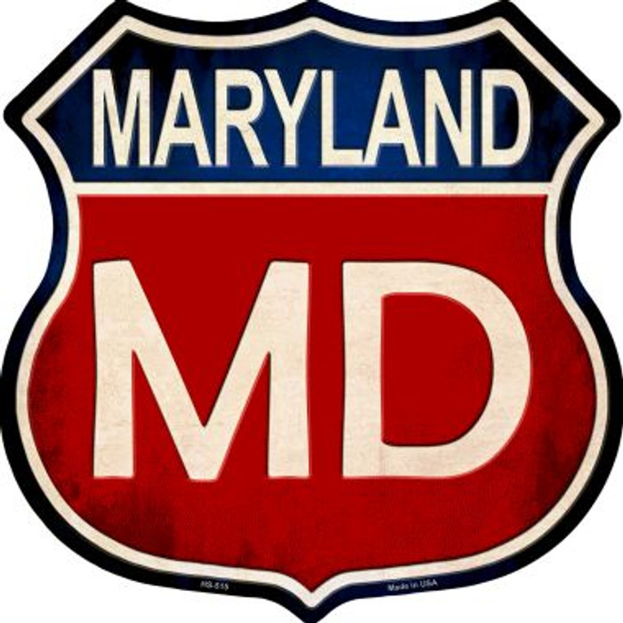 Maryland Wholesale Metal Novelty Highway Shield