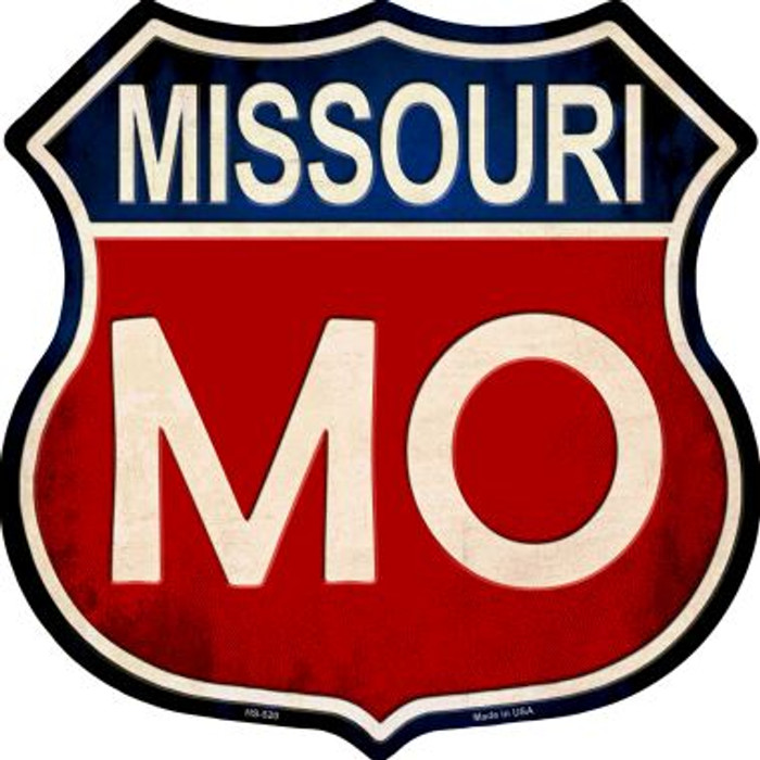 Missouri Wholesale Metal Novelty Highway Shield