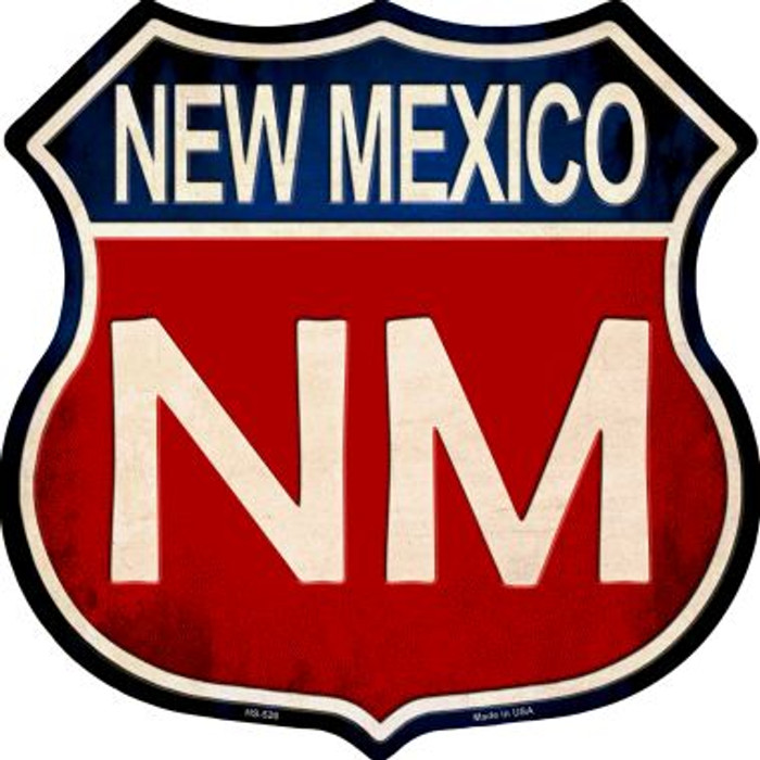 New Mexico Wholesale Metal Novelty Highway Shield