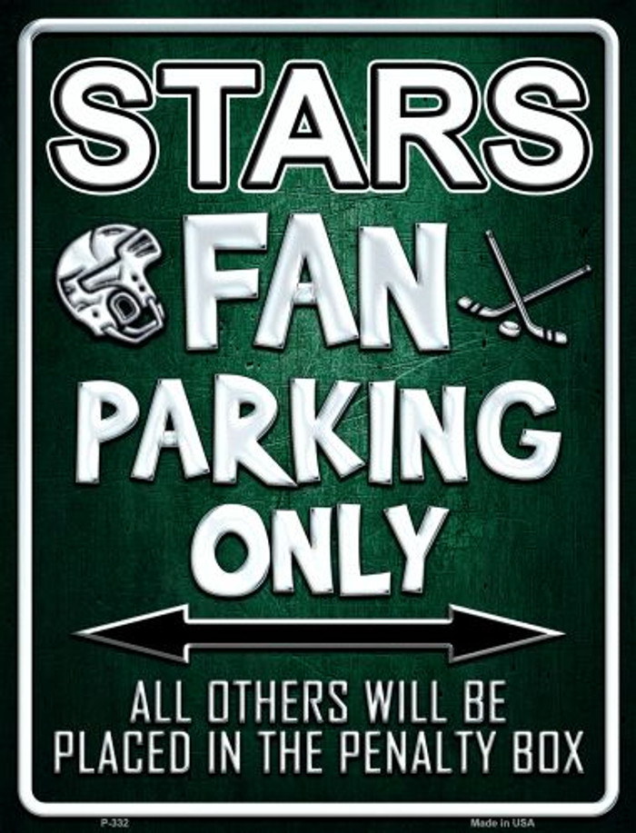 Stars Wholesale Metal Novelty Parking Sign