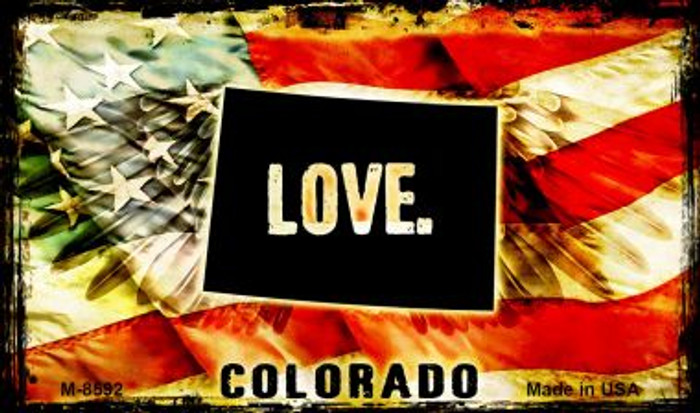 Love Colorado Wholesale Novelty Metal Magnet