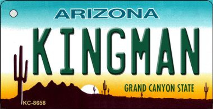 Kingman Arizona Background Wholesale Novelty Key Chain