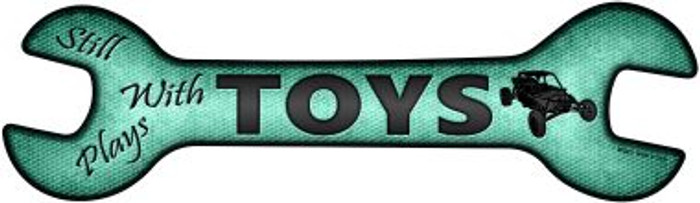 Still Plays With Toys Wholesale Novelty Metal Wrench Sign