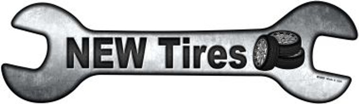 New Tires Wholesale Novelty Metal Wrench Sign