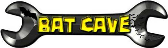 Bat Cave Wholesale Novelty Metal Wrench Sign