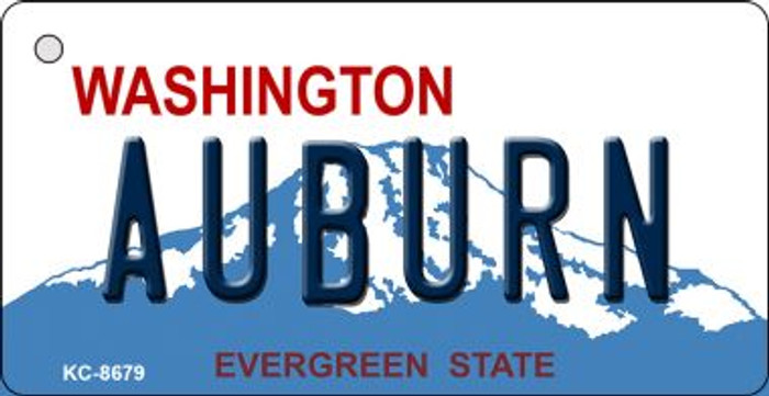 Auburn Washington Background Wholesale Novelty Key Chain